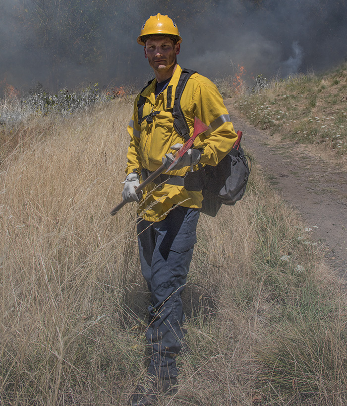 The Gen II wildland jacket is a CAL FIRE style garment that is a design blend of the Crew Boss Interface Jacket and Brush Shirt.