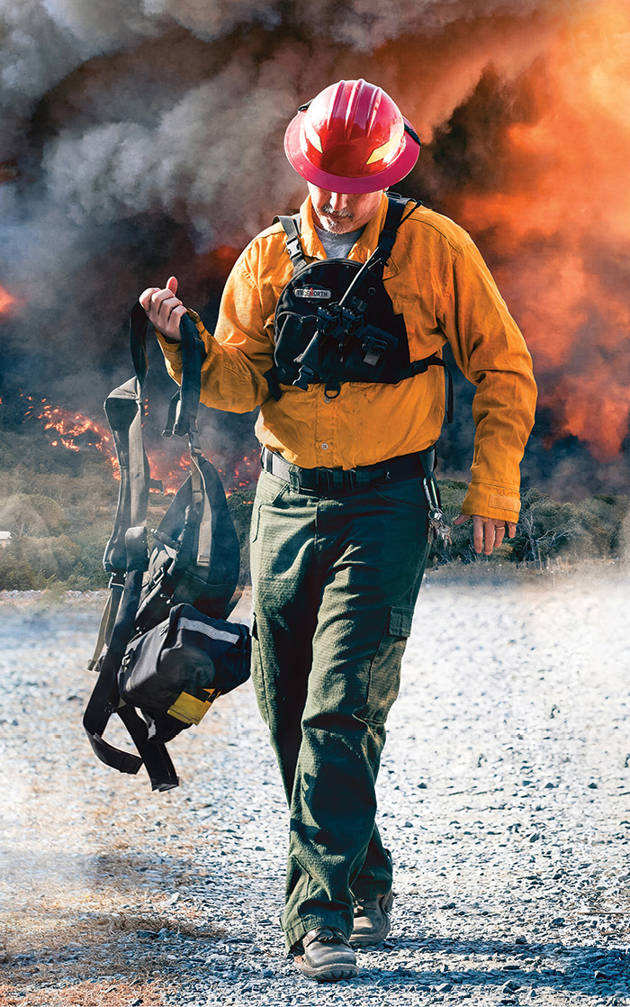 The Slayer™ brush shirt and wildland pant made by True North are compliant with NFPA 1977.