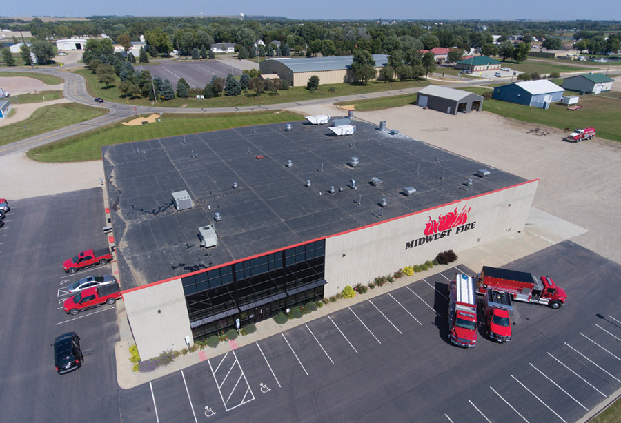 Midwest's factory was designed for future expansion. It currently has more than 33,000 square feet and has been manufacturing just more than 50 rigs per year over the past several years.