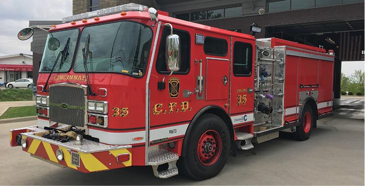 E-ONE—Cincinnati (OH) Fire Department, three (3) pumpers.