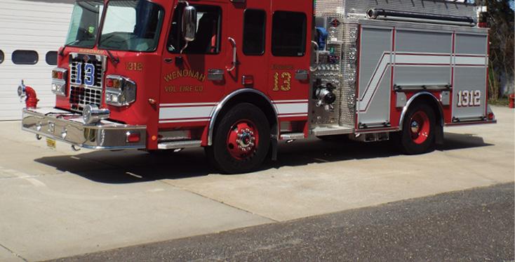 Spartan ER—Wenonah (NJ) Fire Company pumper.