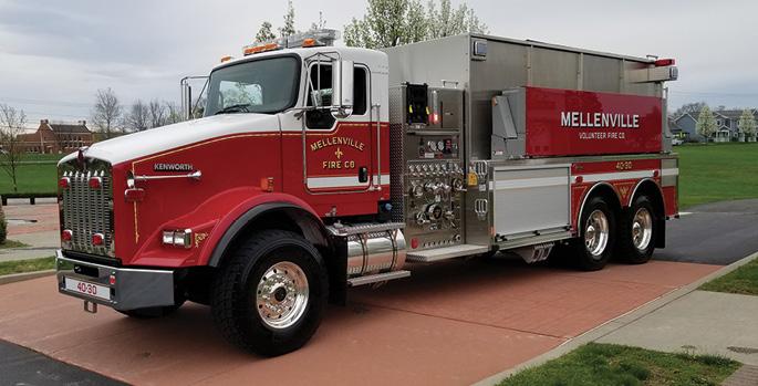 Toyne—Mellenville (NY) Fire District tanker.