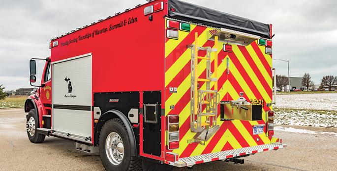 Spencer Manufacturing—Riverton Fire Department, Scottville, MI, tanker.