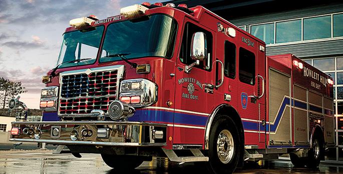 Marion—Howlett Hill (NY) Fire Department pumper.