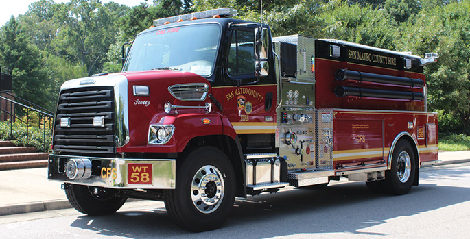 Seagrave—CAL FIRE San Mateo County (CA) Fire Department,