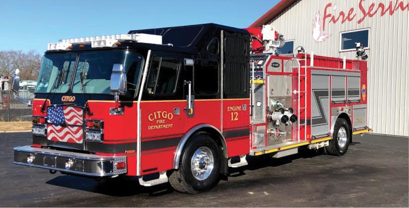 E-ONE—Citgo Petroleum Company, Lemont (IL) Refinery, industrial pumper. Cyclone II cab and chassis; Cummins X15 600-hp engine; Darley ZSM 3,500-gpm industrial pump; polypropylene 1,000-gallon AFFF foam tank; Williams HotShot II foam system, Dealer: Jim Castellano, Fire Service Inc., St. John, IN.
