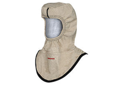 Honeywell First Responder Products makes the MaskMate™ Hood with STEDAIR PREVENT, which reduces a firefighter's exposure to carcinogenic particulates. (Photo courtesy of Honeywell First Responder Products.)
