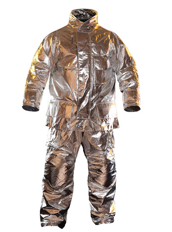 Fire-Dex makes proximity gear on its FXR design with two outer shell material options: Z-FLEX® SILVER™ with PBI fibers or CHOICE™ aluminized fabric. (Photo 3 courtesy of Fire-Dex.)