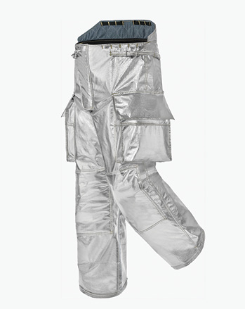 Lakeland's B1 proximity pant comes in a high back design to mate with the 32-inch-long B1 proximity coat.