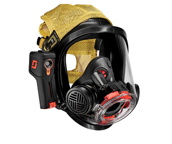 3M Scott Fire & Safety offers Scott Sight on its SCBA, a hands-free thermal imaging system that has hardware outside the mask and an in-mask display adjacent to the mask's nose cup.