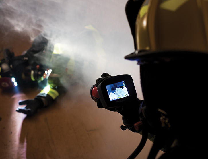 A TI is a valuable tool for many applications and should not be overlooked when RIT operations are needed on the fire scene.
