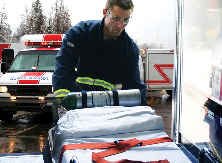 Honeywell First Responder Products makes MED-TECH EM2 medical response gear with a Nomex® outer shell and CROSSTECH EMS moisture barrier. (Photos 5-6 courtesy of Honeywell First Responder Products.)