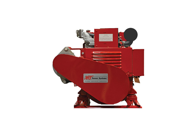 XRT Power Systems makes a line of APU diesel generators from 5.5 to 14 kW. The 10-kW model is shown here.