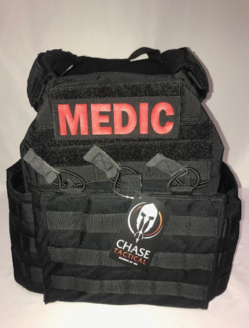 Chase Tactical LLC makes body armor that has a Level 4 plate that can stop an armor piercing round. (Photo 6 courtesy of Chase Tactical LLC.)