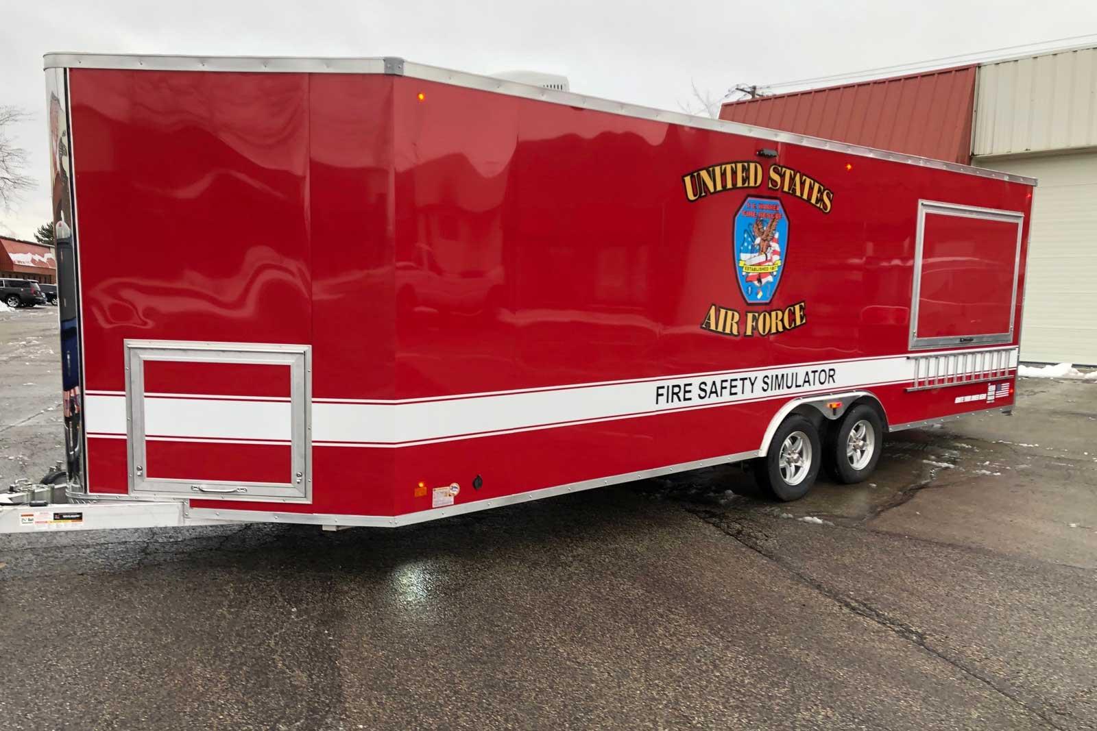 USAF fire education platform