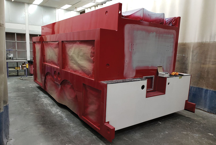 Midwest Fire builds fire apparatus with polypropylene bodies, which are impervious to corrosion. (Photo 15 courtesy of Midwest Fire.)