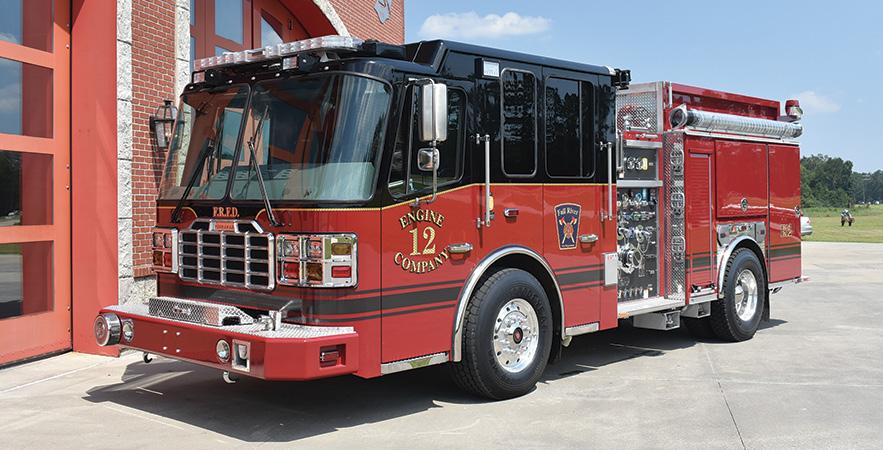 Ferrara—Fall River (MA) Fire Department pumper. Cinder cab and chassis; Cummins L9 450-hp engine; Hale Qmax 1,500-gpm pump; 500-gallon polypropylene water tank; 75-gallon foam cell; FoamPro 2002 single-agent foam system; Whelen lighting package. Dealer: Bill Middlemiss, Specialty Vehicles Inc., Plainville, MA.