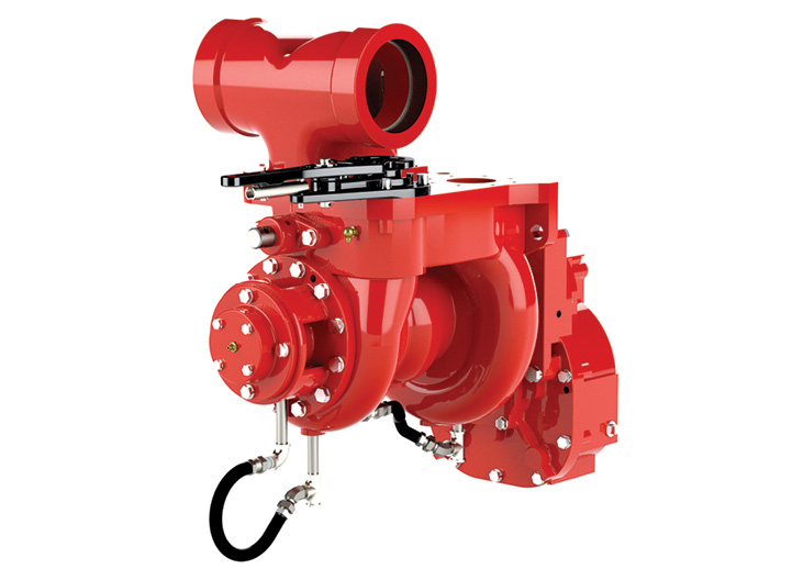 he Waterous CPK-3 500-gpm two-stage pump often is installed on Type 3 wildland rigs.