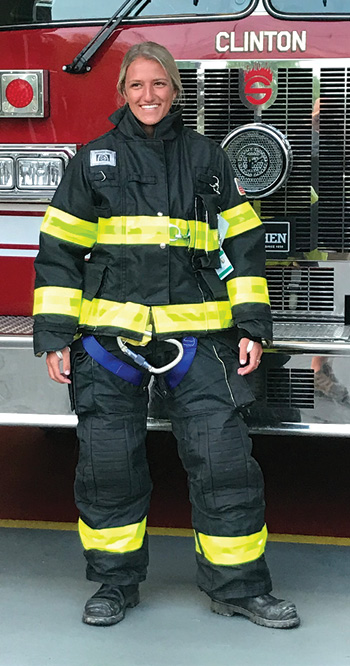 oneywell First Responder Products makes Morning Pride™ TAILS™ turnout gear customized to 13 body measurements.