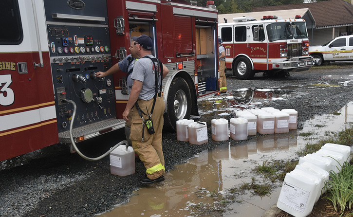 Invest in the safety of your personnel by having an onboard foam fill system installed when designing your apparatus.