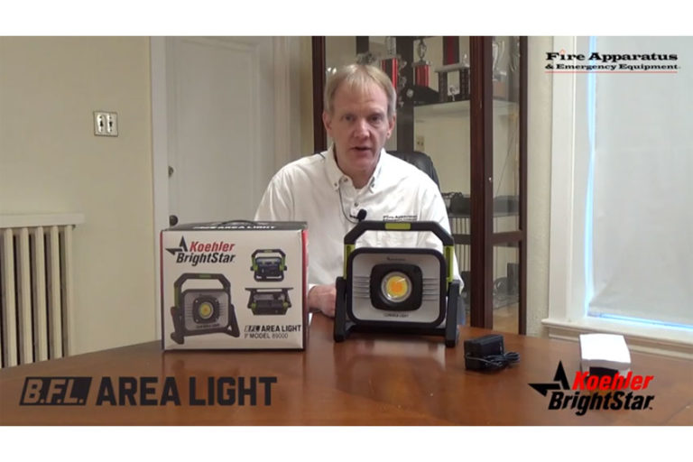 Unboxing with <I>Fire Apparatus & Emergency Equipment</i>: Koehler BrightStar B.F.L. Area Light