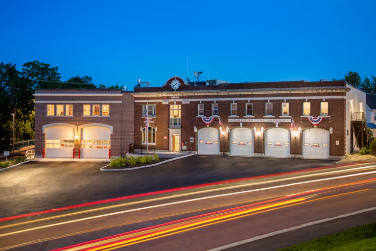 Major Renovation to Augusta (ME) Fire Department's Hartford Fire Station