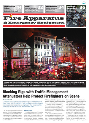 Cover of Fire Apparatus & Emergency Equipment Volume 26 Issue 1