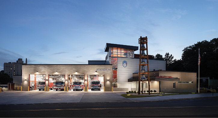 Highland Associates, Mitchell Associates Architects Design New Station 1 for Yonkers (NY) Fire Department