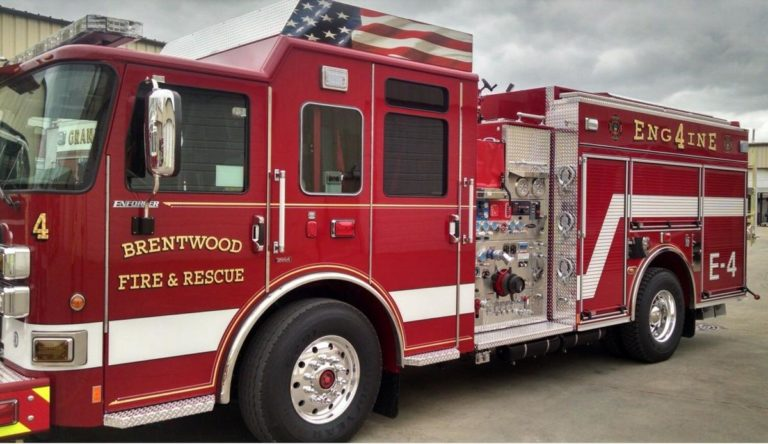 Brentwood (TN) Approves More than $1.7M for New Fire Apparatus