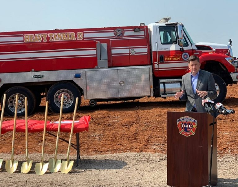 Oklahoma City (OK) Fire Department Breaks Ground on New Station