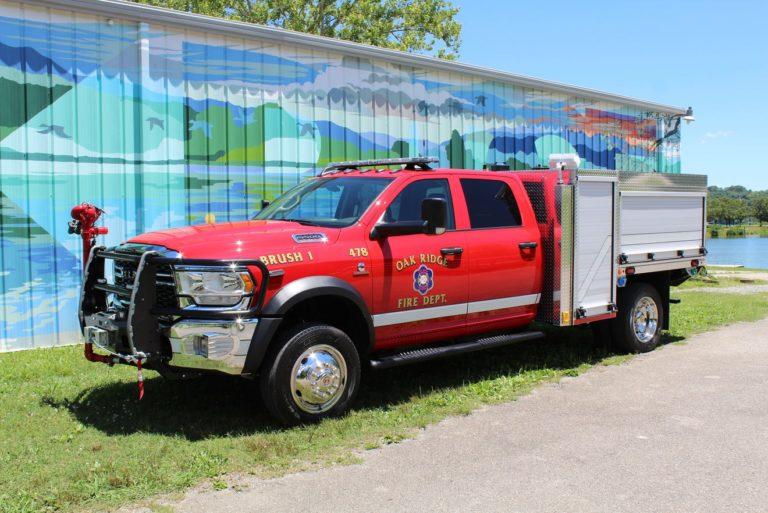 Oak Ridge (TN) Fire Dept. Puts New Wildland Rig in Service