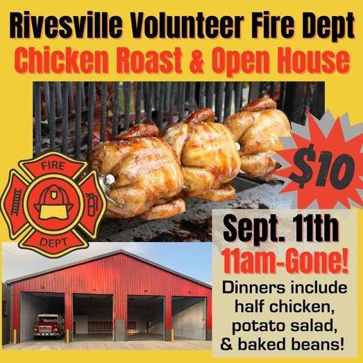 Rivesville (WV) Volunteer Fire Department Celebrates New Firehouse