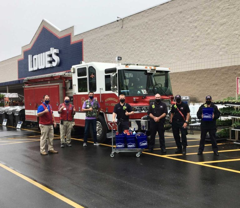Lowe's Offers First Responders 10-Percent Discount Ahead of National First Responders Day
