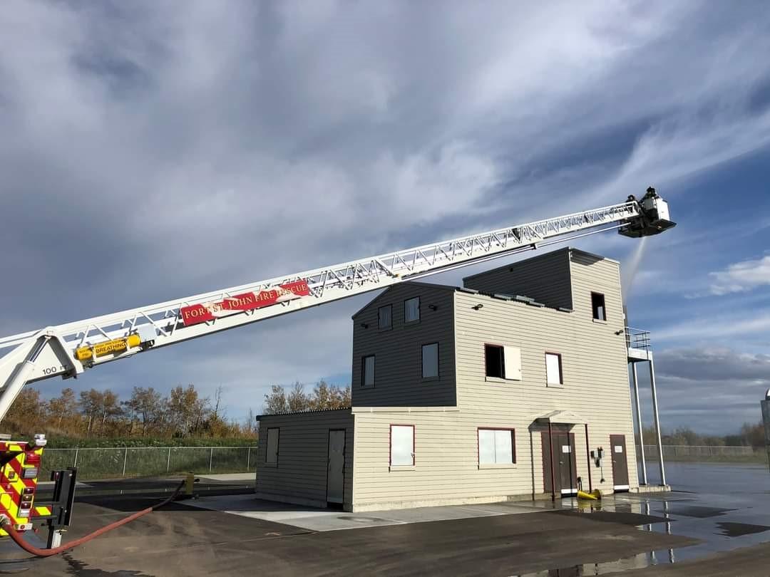 New Custom Fire Training Tower Handles Needs of British Columbia Area