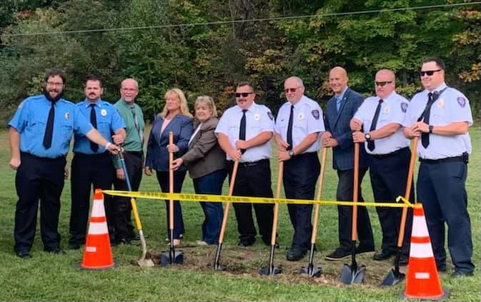 Boswell (PA) Volunteer Fire Department Holds Groundbreaking for Station