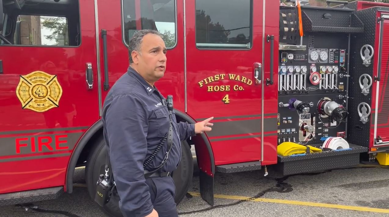 Morristown (NJ) Fire Bureau Takes Delivery of New Pumper
