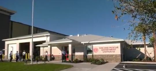 Watch: Grand-Opening Ceremony for Jacksonville (FL) Fire and Rescue's $7M Station 63