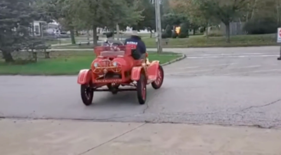 McDonald (OH) First Fire Apparatus to Appear in Octoberfest Parade