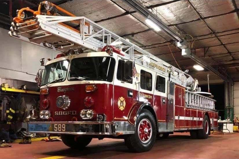 Wichita West (TX) Firefighters Get a Donated Aerial From Fire Dept. in New York