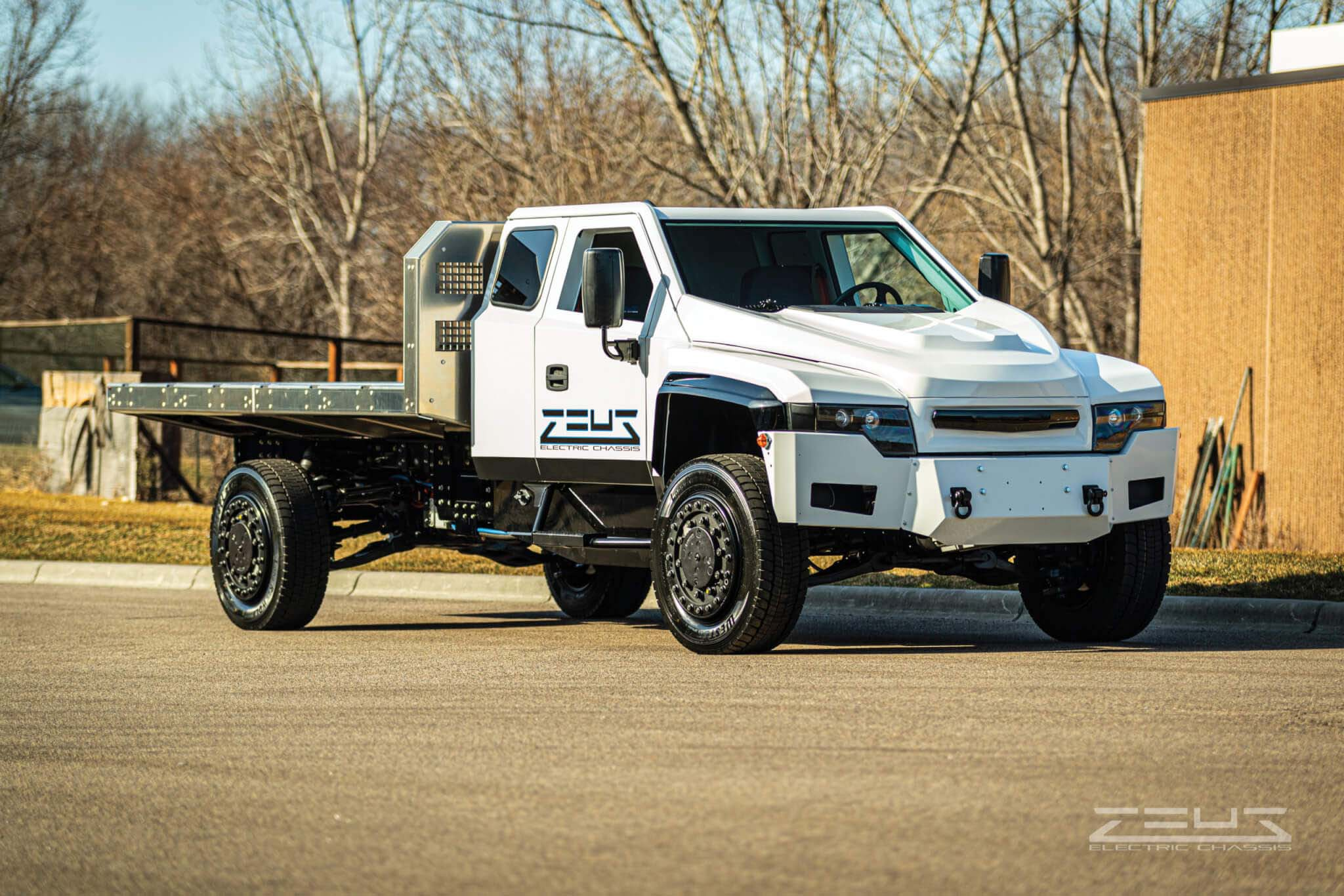 Zeus Electric Chassis and EAVX Join to Create Vocational Work Trucks