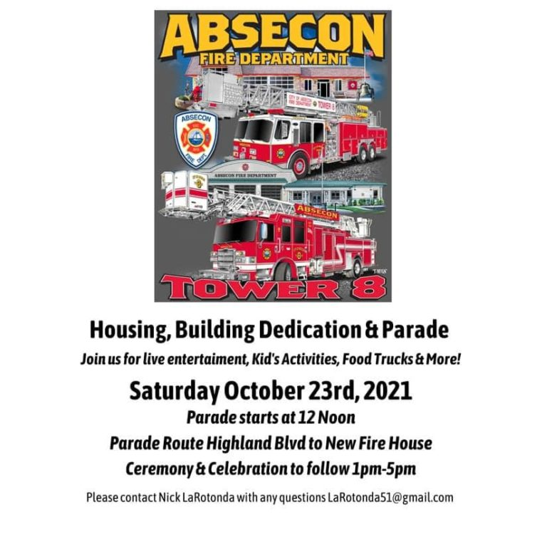Celebrate with Absecon (NJ) Fire Department