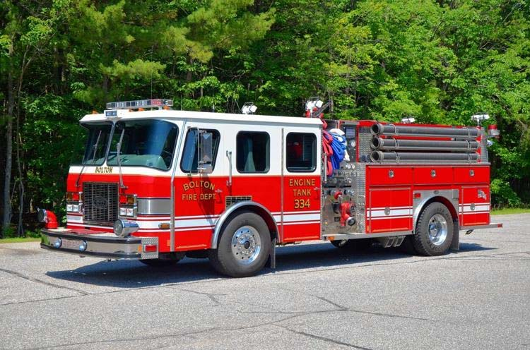 Bolton (CT) Moves Closer to Buying New Fire Truck