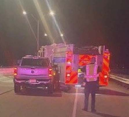 College Station (TX) Fire Truck Hit by Intoxicated Driver