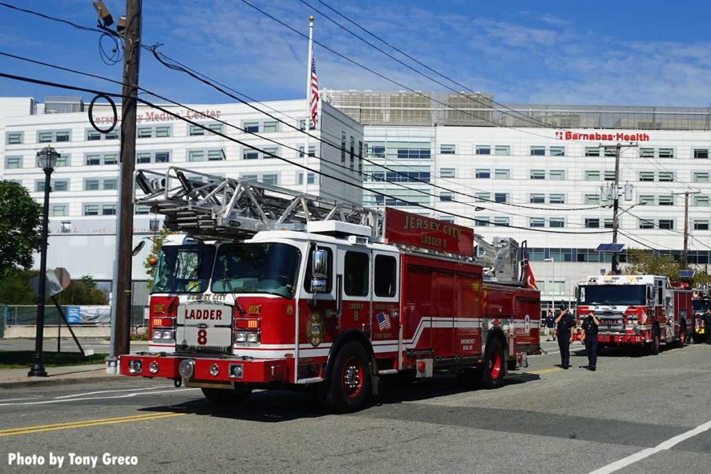 Jersey City Ladder 8