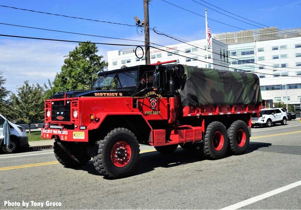 Parsippany fire truck