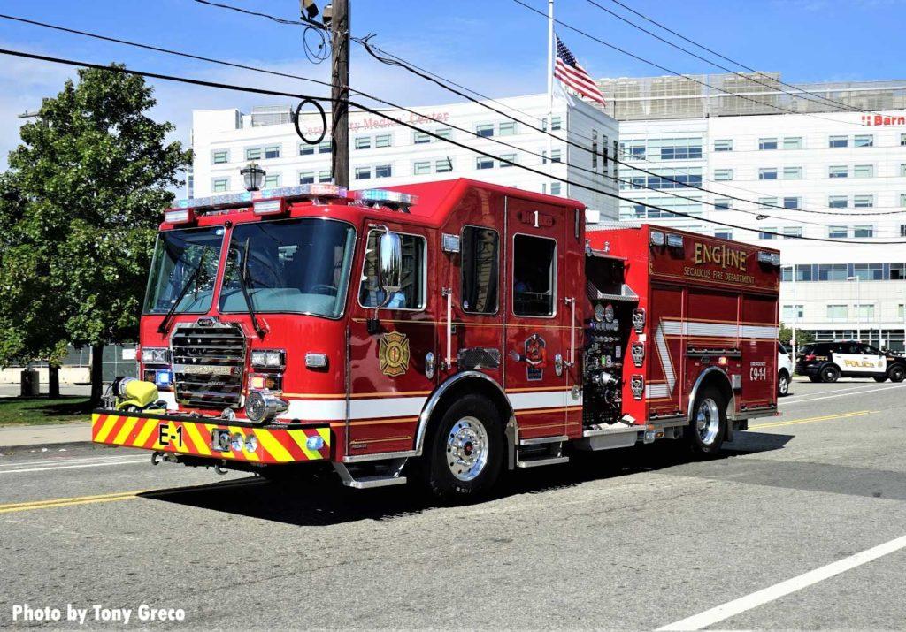 Secaucus fire truck
