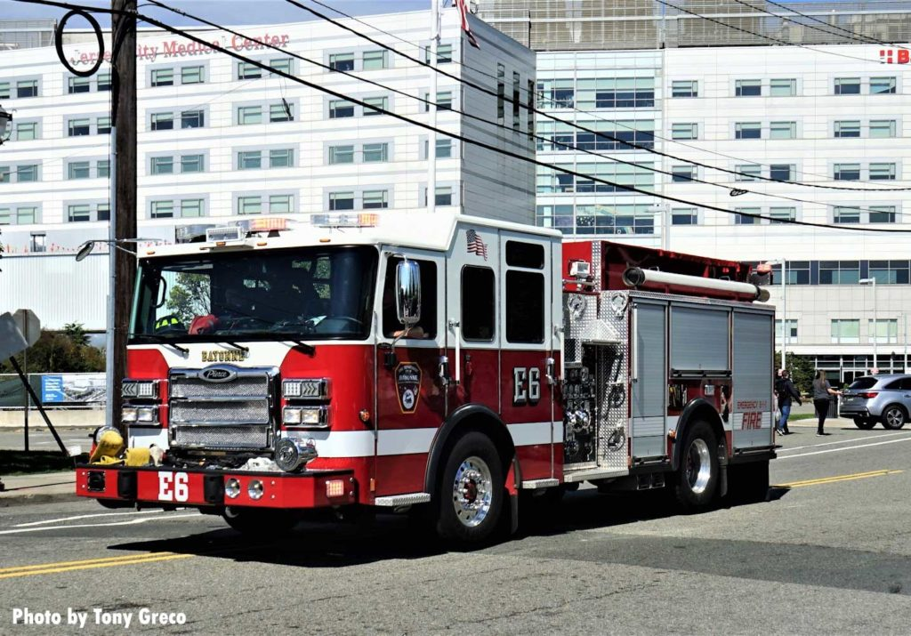 Bayonne fire truck