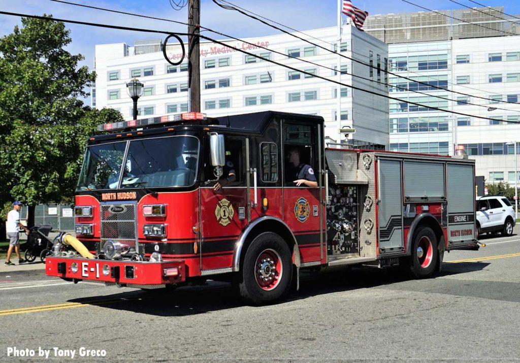 North Hudson fire truck