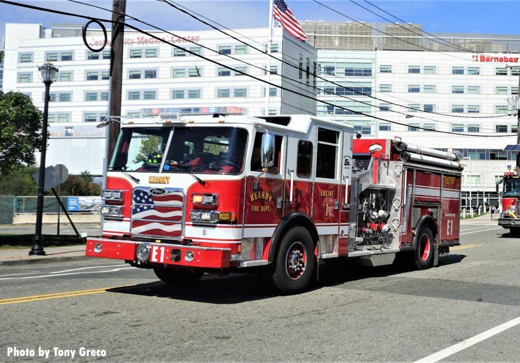 Kearny fire truck