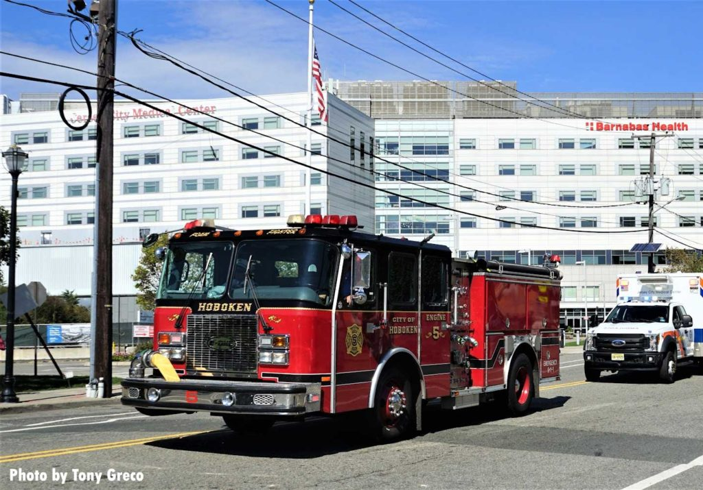 Hoboken fire truck